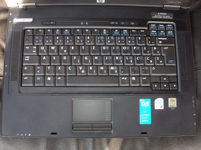 HP nx7300 Keyboard