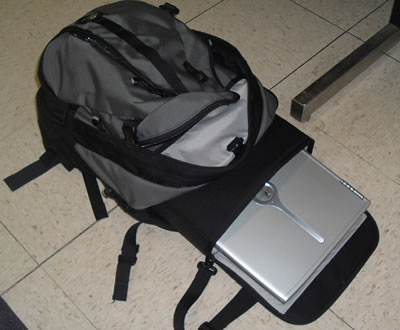 Spire USA Volt Laptop Backpack Review (pics) | NotebookReview.com