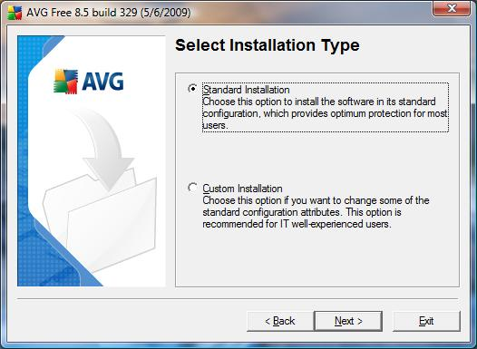 AVG Antivirus Free installation 4