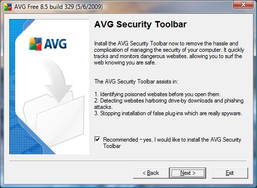 AVG Antivirus Free installation 6