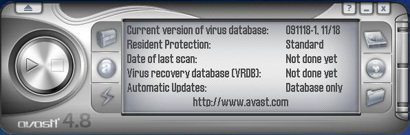 Avast Free Antivirus interface