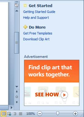 Microsoft Office 2010 Starter Edition advertising unit (Image courtesy Wikipedia)