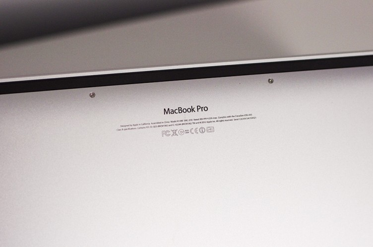 Apple MacBook Pro 2012 with Retina Display