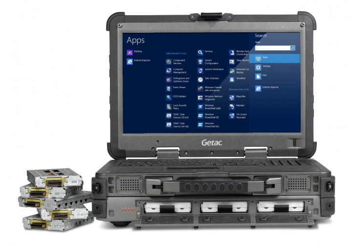 Getac Announces X500 Rugged Mobile Server Notebook
