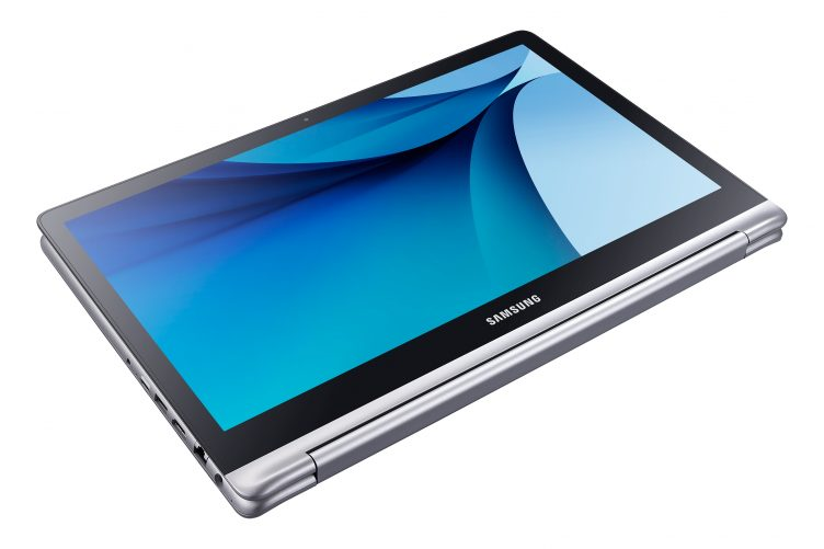 Samsung Notebook 7 spin tablet mode
