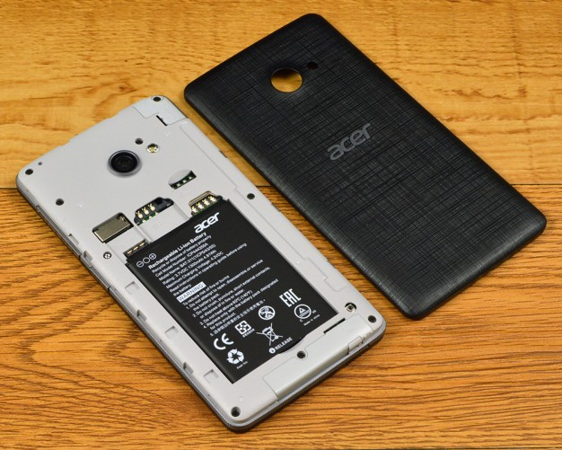 Acer Liquid M220 removable battery