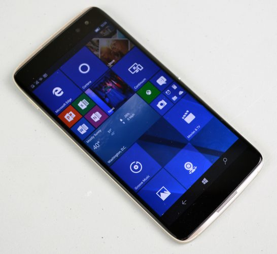 Alcatel Idol 4s with Windows 10 review unit