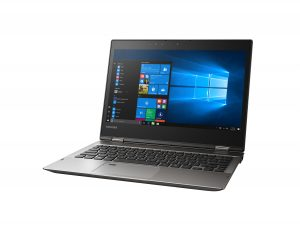 The 2017 Toshiba Portegé X20W convertible notebook