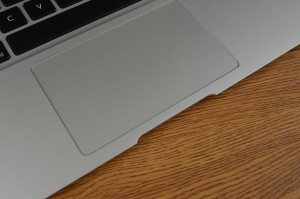 Apple MacBook Air touchpad