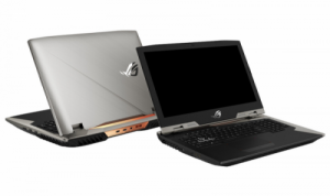 Asus ROG G703 front and rear