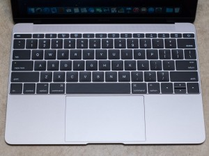 Big keys for a 12-inch laptop, but not the best typing experience.