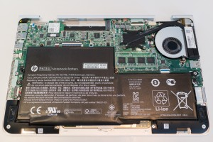 A closer look inside the Spectre x360.