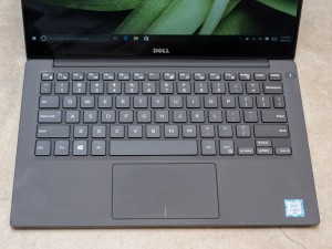 Dell XPS 13 2016 model keyboard and touchpad