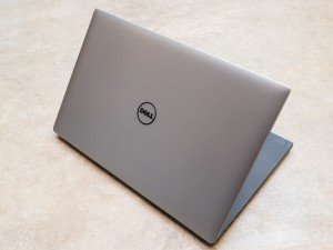 The screen lid for the Dell XPS 15 laptop is simple but it works.