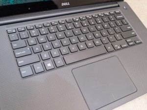 The keyboard of the Dell XPS 15 works well but there is room for improvement.
