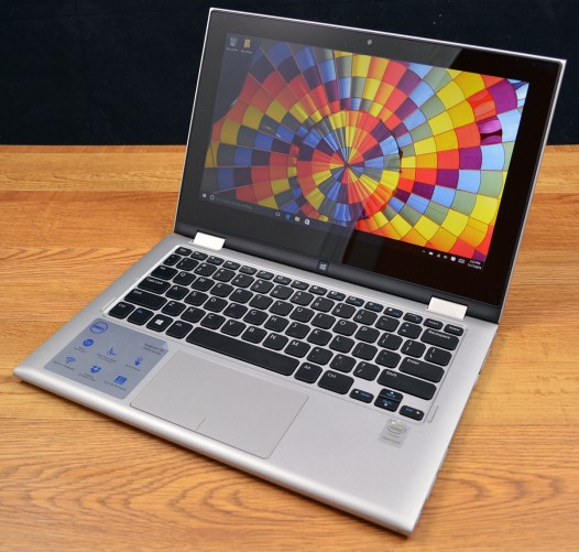 The Dell Inspiron 11 3000 is a standard 2-in-1.