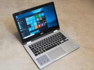 The Dell Inspiron 13 7000 Series is a 2-in-1 device with a touch display.
