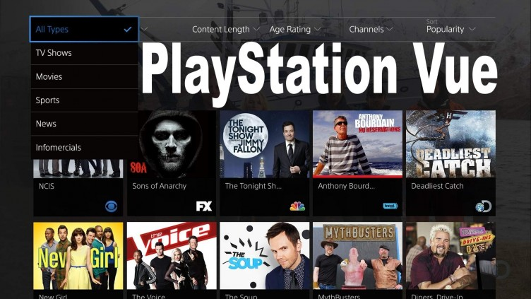 PlayStation Vue is a cable alternative that walks the line between cable and streaming.