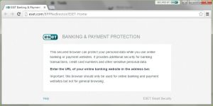 ESET Banking Protection