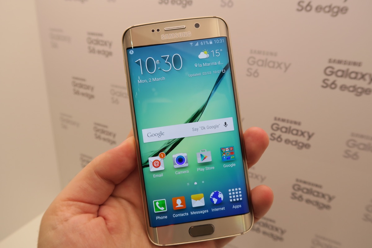Samsung Galaxy S6 Edge Hands On Preview