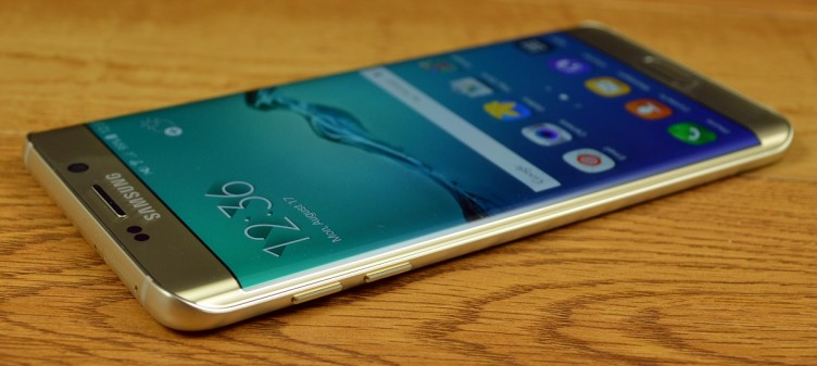 The Samsung Galaxy S6 edge+ has sloped edges, which look great, but don