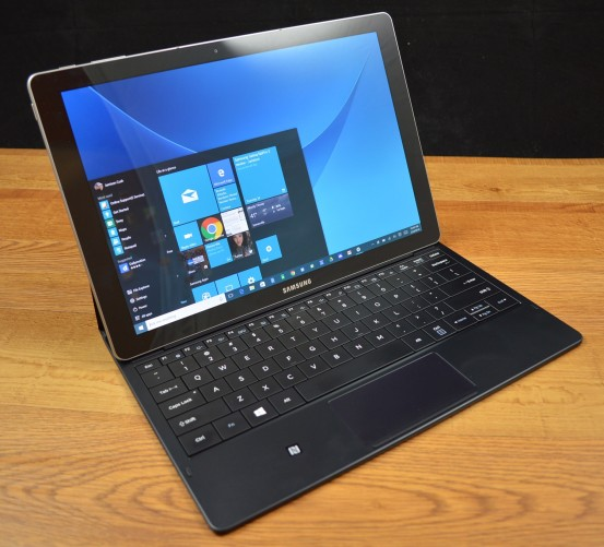 The Samsung Galaxy TabPro S is a premium Windows 10 2-in-1.