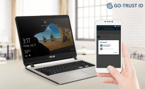 The Asus X507 and the GOTrust ID app