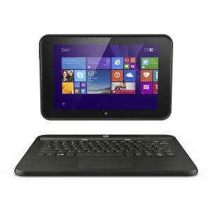 HP Pro Tablet 10 EE with keyboard