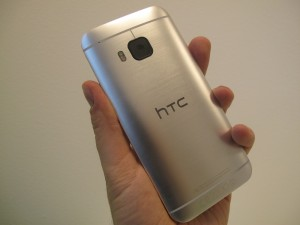 HTC One (M9) back