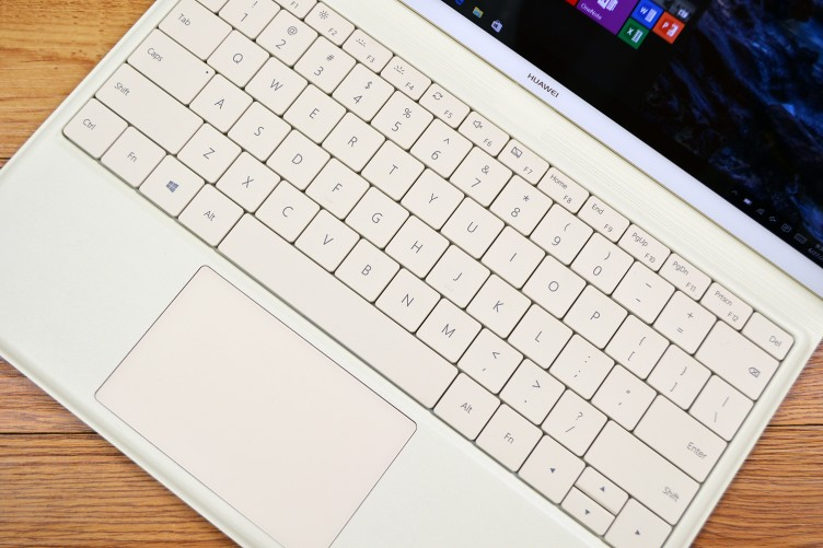 Huawei MateBook keyboard