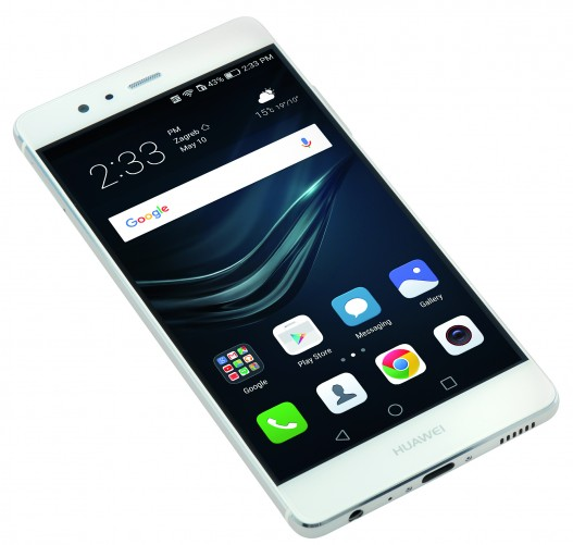 The Huawei P9 is a 5.2-inch Android smartphone.