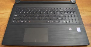 Lenovo Flex 2 15 keyboard and trackpad