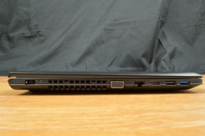 Lenovo Ideapad Z40 ports left