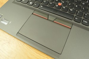 The touchpad is slightly elevated, allowing for added travel on clicks.