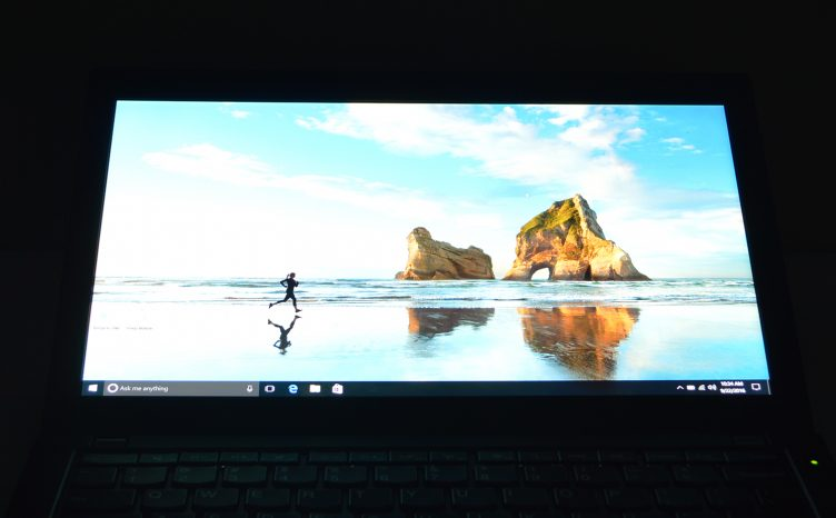 Lenovo ThinkPad X260 dark display 3