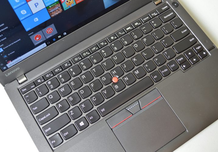 Lenovo ThinkPad X260 keyboard