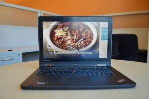 Lenovo ThinkPad Yoga S1 laptop mode