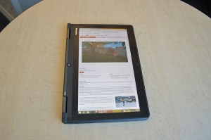 Lenovo ThinkPad Yoga S1 tablet mode