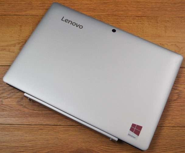 The Lenovo ideapad Miix 310 has a solid build for a budget device.