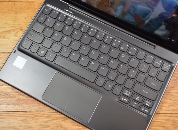The Lenovo ideapad Miix 310 keyboard is its biggest liability.