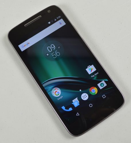 Motorola Moto G4 Play review unit