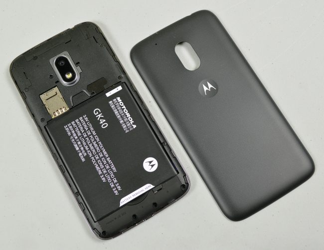 Moto G4 Play replaceable battery