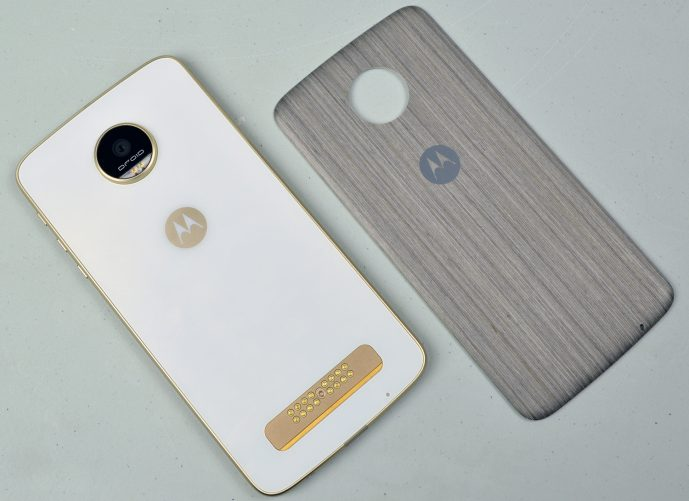Moto Z Play Droid with Style Shell