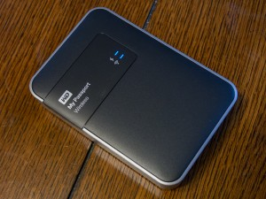 Top of the WD My Passport Wireless