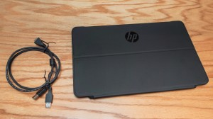 HP EliteDisplay S140u and cable