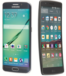 Samsung Galaxy S6 Edge vs LG G Flex 2