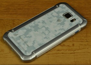 Samsung Galaxy S6 active camo back panel