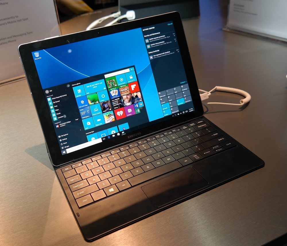 Samsung Galaxy TabPro S Hands On, An Android-less and ...