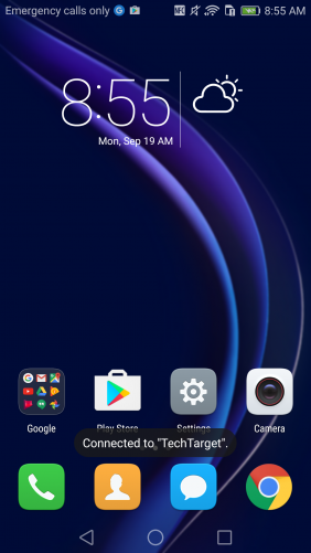 Honor 8 Android with EMUI 4.1