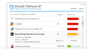 """Should I Remove It?"" is an application that helps novices safely remove bloatware."